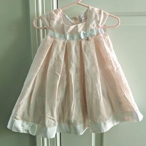 Pink Bunny Maggie & Zoe Dress with Bows